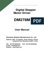 Dm278m Manual
