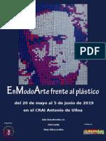 EnModoArte frente al plástico, Exposición en el CRAI Antonio de Ulloa