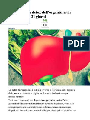 dieta disintossicante 15 giorni pdf