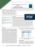 Customer Choice Expectancy Value Model-Colombo Morrison Model