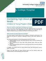 Correcting a High Blood Glucose Level