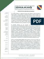 Agenda 2025 CONAMAQ Ddhh