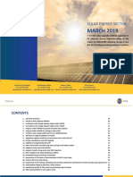 Report Solar Energy April 2019