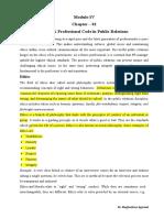 PR Strategies (Module-III)