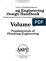Plumbing Engineering Design Handbook - A Plumbing Engineer's Guide to System Design and Specifications, Volume 1 - Fundamentals of Plumbing Engineering ( PDFDrive.com )
