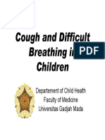 Cough and Difficult Breathing in Children