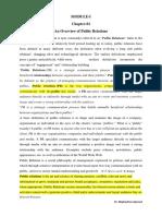 PRM Overview (Module-I).docx