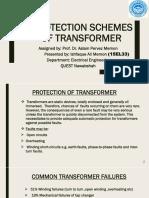 Differential Protection Scheme  Transformer.pptx