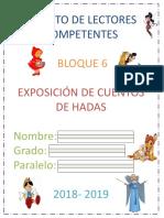 1° FOLLETO DE CUENTOS DE HADAS 2019