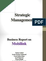 Strategic Management Mobilink