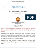 IITM Presentation on I 4.0 - Anna University - 21-12-2016