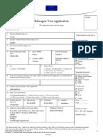 Schengen Visa Application 2019-05-03