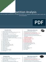Comp. Analysis