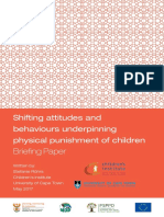 Shifting Attitudes and Behaviors Underpinning Physical Punishment of Children (2017)