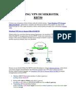 Setting VPN Di Mikrotik Rb750