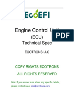 (ECU 4T2C) Technical