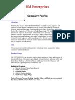 Sm Enterprises -Proile