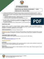 Conv Halterofilia N1 Vlc 2019