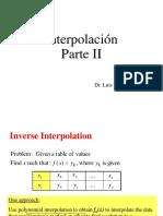 Clase 13 Calculo Numerico I