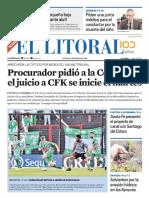 El Litoral Mañana 16/05/2019