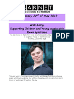 Down Syndrome Conference May 2019