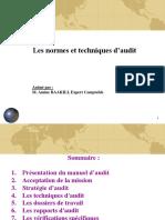 Séminaire Manuel Et Techniques d'Audit