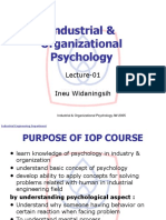 1.Industrial Psychology L 01 Introduction