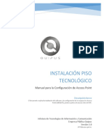 04 - Manual Configuracion Access Point