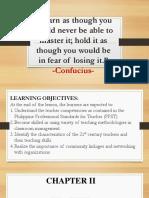 Teacher Competencies