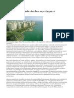 Las ciudades sustentables.docx