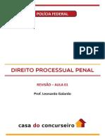 Aula 01 Revisao Policia Federal 2018 Nocoes de Direito Processual Penal ...