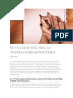 UN TALLER DE BULLYING LA VIVENCIA COMO FACILITADOR.docx