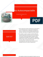 Concreto autocompactable