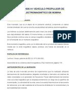 Us 20030209636 a1 Vehículo Propulsor de Campo Electromagnético de Bobina - Español