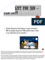 Essay List for Jan – Feb 2019.pptx