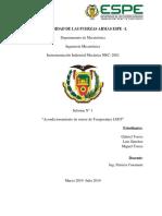 Informe 1 Contactor