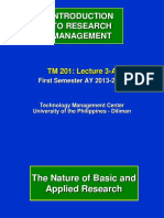 201 3 A_Introduction to Research Management_I 13 14