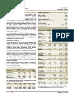 Equity Note - MJL Bangladesh Limited - January 2018