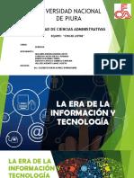 ERA DE LA TECNOLOGIA E INFORMACION