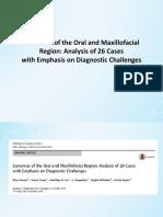 Sarcomas of the Oral and Maxillofacial Region