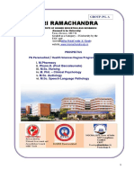 Paramedical  Health Sciences Degree Programs-Forms & Prospectus.ppt
