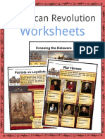Sample American Revolution Worksheets (1)