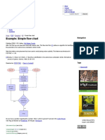Simple Flow Chart _ TikZ Example