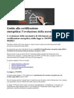 Guida alla certificazione energetica_Parte 1 evoluzione della normativa.docx