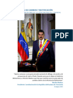 Jornada Nacional Plan de Cambio y Rectificacion