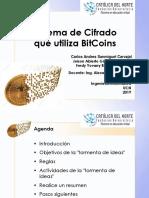 Criptografia Sistema de Cifrado de Bit Coin