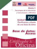 Guía BD Access