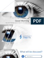 What is Deja Vu Presentation