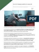 20minutos.es-quedarse Dormido en El Trabajo Puede Ser Causa de Despido en Perú