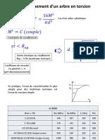 Dimensionnement d'Un Arbre en Torsion, Dimensionnement Du Module - 2017 - V2